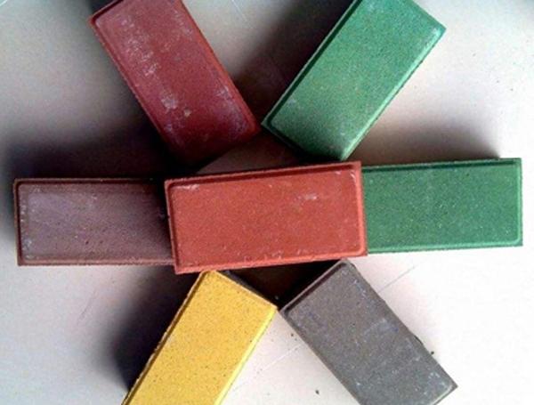 色彩道路砖